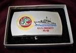 USS CROCKETT PG-88 VIETNAM ERA CIRCA 1960's