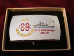USS MACDONOUGH DDG-39 CIRCA 1960's