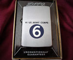 6 VI US ARMY CORPS VIETNAM ERA DATED 1964