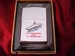 "USS INDEPENDENCE CVA-63 ""LET FREEDOM RING"" (POLISHED) VIETNAM ERA CIRCA 1966"
