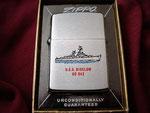 USS BIGELOW DD-942 DATED 1965 VIETNAM ERA