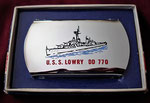 USS LOWRY DD-770 VIETNAM ERA CIRCA 1965- 1966