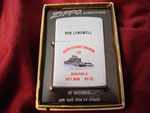 "RIVER ASSAULT DIVISION 151 MONITOR-6 VIETNAM 68-70 ""BOB LONGWELL"" VIETNAM WAR  DATED 1970 (This Zippo has been returned to the Dan Longwell Family)"
