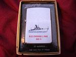 USS RICHARD L. PAGE DEG-5 (VIETNAM ERA) DATED 1970