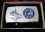 USS VESOLE DD-878 VIETNAM ERA CIRCA 1960's