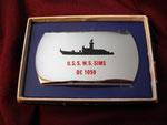 USS SIMS DE-1059 VIETNAM ERA CIRCA 1960's