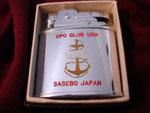 CPO CLUB USN SASEBOE JAPAN (PENGUIN LIGHTER) CIRCA 1953