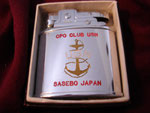 CPO CLUB USN SASEBOE JAPAN (PENGUIN LIGHTER) CIRCA 1953