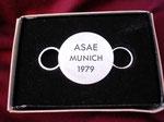 TWA ASAE MUNICH 1979 REVERSE SIDE