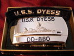 USS DYESS DD-880 (BOBO LIGHTER) VIETNAM ERA CIRCA 1960's