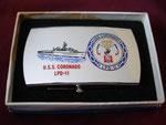 USS CORONADO LPD-11 BUCKLE CIRCA 1960's