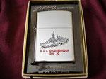 USS GOLDSBOROUGH  DDG-20 VIETNAM ERA DATED 1970 (Gifted by Tom Bacon)