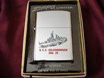 USS GOLDSBOROUGH  DDG-20 VIETNAM ERA DATED 1970 (Gifted by Tom Bacon)