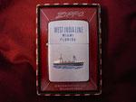 SS WEST INDIA LINES MIAMI FLORIDA CIRCA 1957