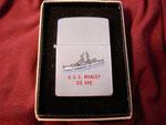 USS MANLEY DD-940 (DATE CODE ERROR) CIRCA 1979