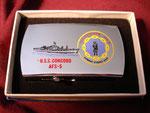 USS CONCORD AFS-5 VIETNAM ERA CIRCA 1960's