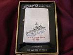 USS BROWNSON DD-868 VIETNAM ERA DATED 1974