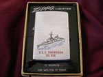 USS BROWNSON DD-868 VIETNAM ERA DATED 1974