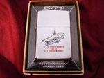 "USS INDEPENDENCE CVA-62 ""LET FREEDOM RING"" (BRUSH) VIETNAM ERA CIRCA 1966"