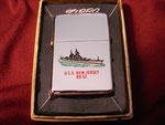 USS NEW JERSEY BB-62 T&C VIETNAM ERA CIRCA 1968