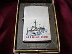 USS PARROT MSC-197 VIETNAM ERA DATED 1966