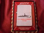 USS SAMUEL B. ROBERTS DD-823 CIRCA 1958