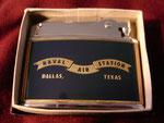 US NAVAL AIR STATION DALLAS TEXAS NATIONWIDE FLINT LIGHTER VIETNAM ERA CIRCA 1960's