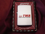 FLY TWA TRANS WORLD AIRLINES DATED LATE 1955