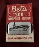 USS WASP CVA-18 ( IN BETO BOX)  200 WINDPROOF LIGHTER  VIETNAM ERA CIRCA 1960's