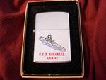 USS ARKANSAS CGN-41 CIRCA 1984