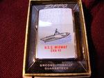 USS MIDWAY CVA-41 (PRESENTED BY COMMANDING OFFICER) VIETNAM ERA CIRCA 1973