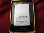 USS CHARLES P. CECIL DD-835 VIETNAM ERA CIRCA 1974