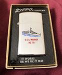 USS MADDOX DD-731 (SLIM) VIETNAM ERA DATED 1971