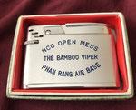 NCO OPEN MESS THE BAMBOO VIPER PHAN RANG AIR BASE VIETNAM WAR CIRCA 1960'S