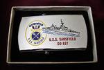 USS SARSFIELD DD-837 VIETNAM ERA CIRCA 1960'S
