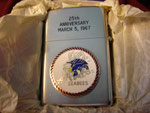 CIVIL ENGINEER CORPS SEABEES 25TH ANNIVERSARY MARCH 2, 1967 REVERSE