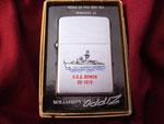 USS BOWEN DE-1079 (ZIPPO BOX INSERT PRINTING ERROR) VIETNAM ERA CIRCA 1970