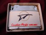 CANADIAN PACIFIC AIRLINES  (PENGUIN LIGHTER) VIETNAM ERA CIRCA 1960's