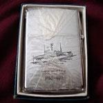 USS PLEDGE MSO-492 REVERSE SIDE