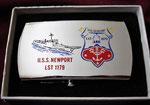 USS NEWPORT LST-1179 VIETNAM ERA CIRCA 1960's
