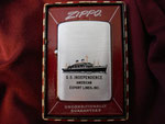 SS INDEPENDENCE AMERICAN EXPORT LINES CIRCA 1956