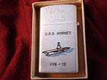 USS HORNET CVS-12 (PENGUIN LIGHTER) VIETNAM ERA CIRCA 1960's
