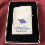 COMMANDER NAVAL SURFACE FORCE REVERSE SIDE