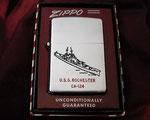 USS ROCHESTER CA-124 KOREAN WAR DATED 1947-1953