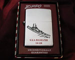 USS ROCHESTER CA-124 KOREAN WAR DATED 1947-1953