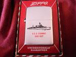 USS CONWAY DDE-507 CIRCA 1958