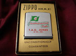 T.A.D. JONES & CO QUALITY INDUSTRIAL FUELS VIETNAM ERA CIRCA 1060'S