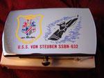 USS VONSTEUBEN SSBN-623 CIRCA 1980's