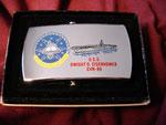 USS DWIGHT D. EISENHOWER  CVN-69 CIRCA 1980's