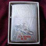 USS HAMNER DD-718 PRINCE ROCKY LIGHTER VIETNAM ERA CIRCA 1960's